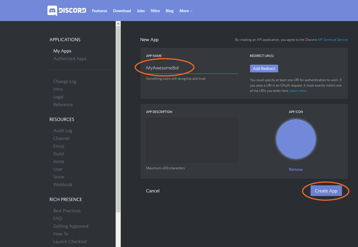 Create a Discord Bot via Discord Channel - Syn Developer Network