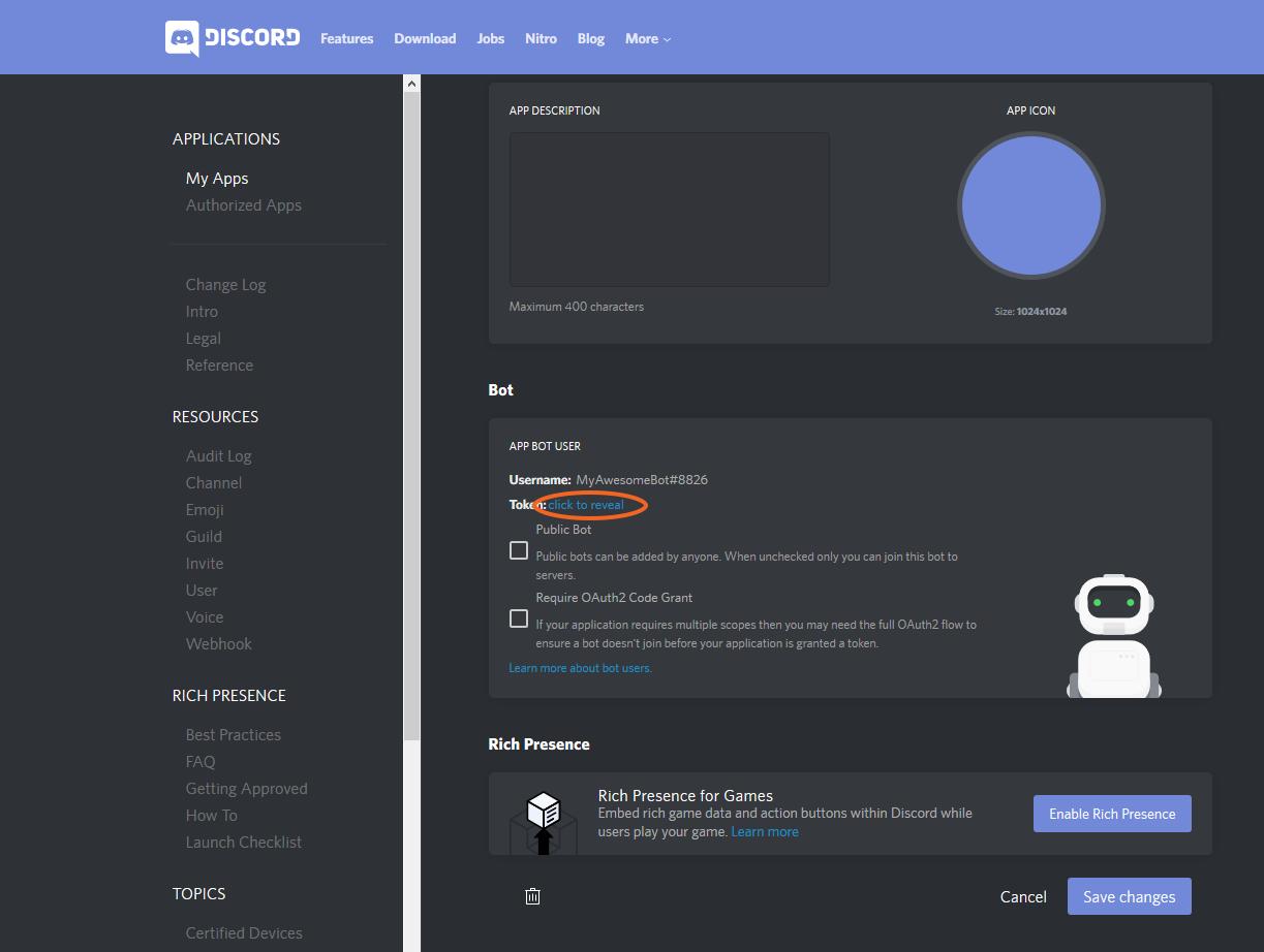 Create a Discord Bot via Discord Channel - Syn Developer Network